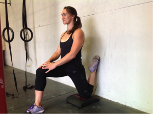 couch stretch weight lifting rest between sets