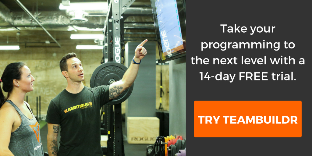 strength and conditioning software tips teambuildr
