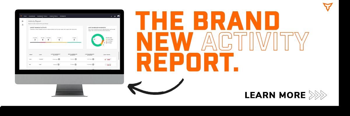New Activity Report CTA