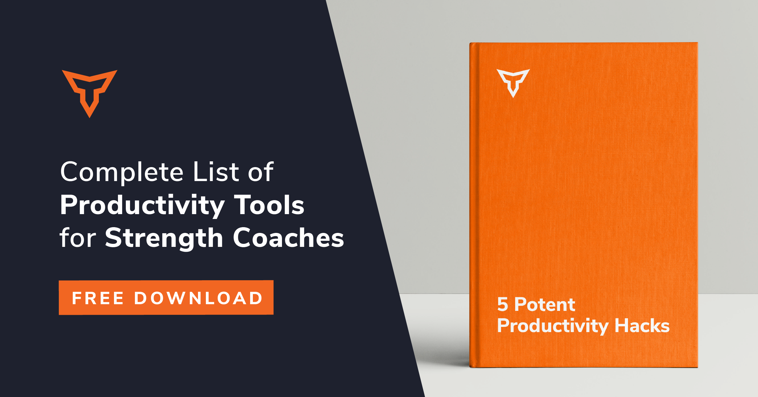 productivity tools for strength coaches