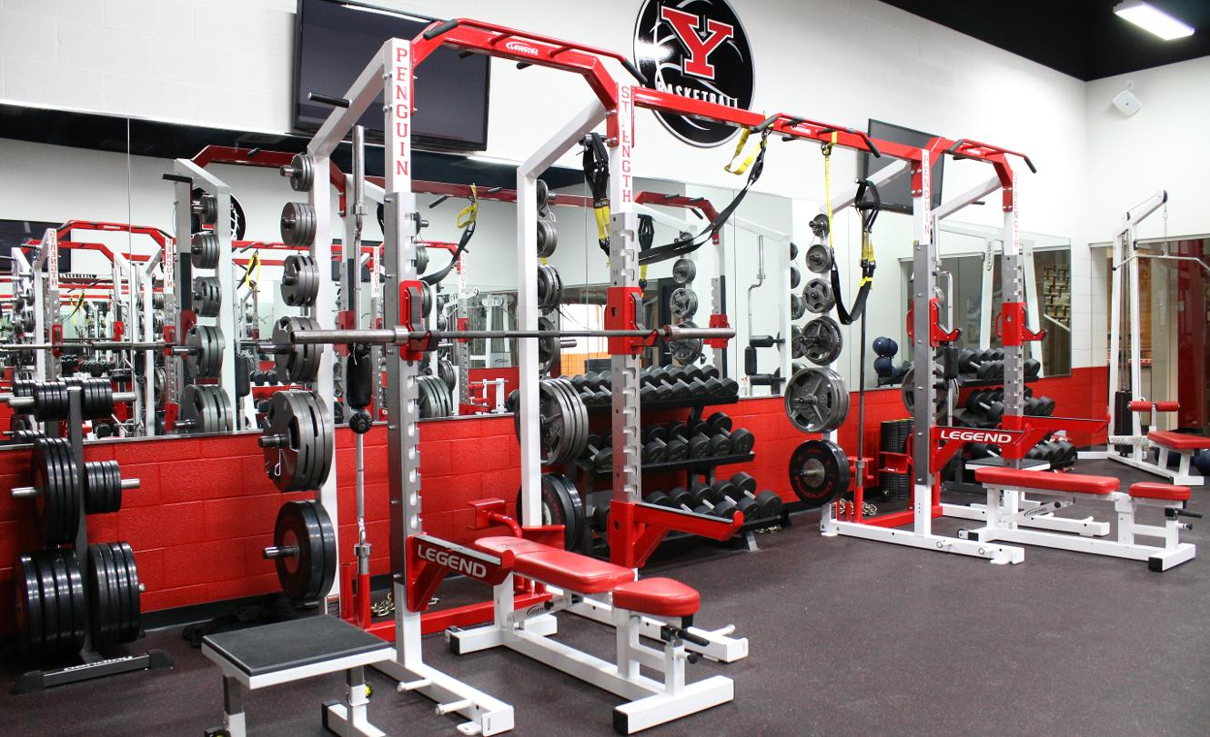 youngstown-state-weight-room