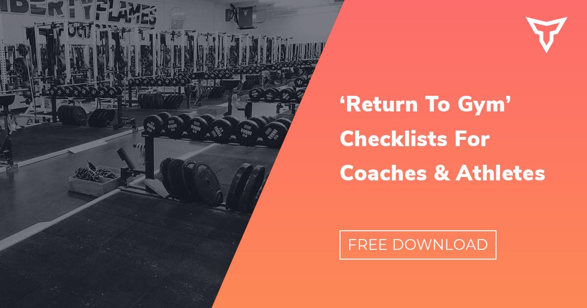 return to gym checklist
