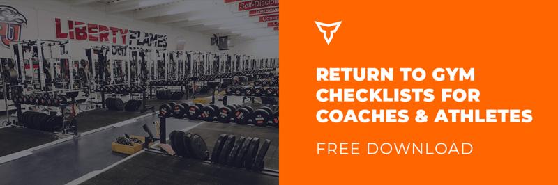 return to gym checklists