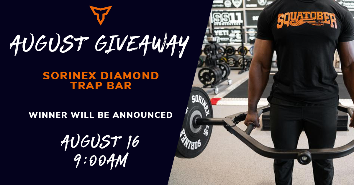 trap bar giveaway social